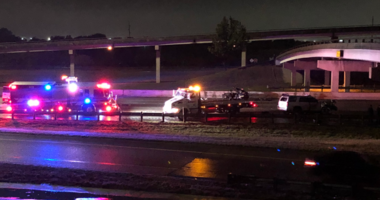 Two people dead in crash NB 635 at Hwy 80 in Mesquite.