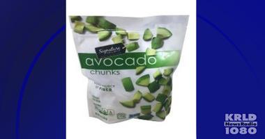 Frozen Avocado Chunk Recall