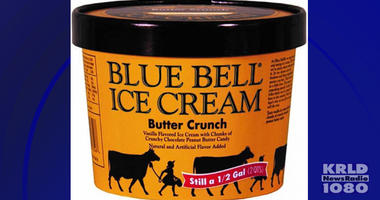 Blue Bell Butter Crunch Ice Cream Recall