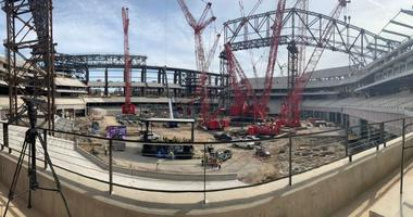 Globe Life Field Construction