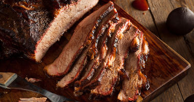 Smoked Barbecue Beef Brisket