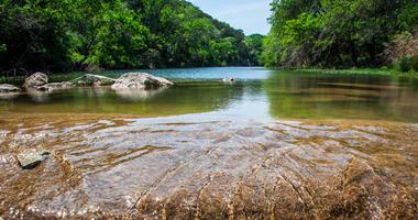 Crystal Clear Running Water Greenbelt Austin