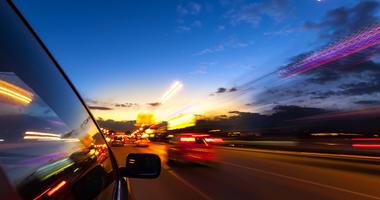 Car On Highway