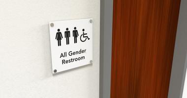 All Gender Restroom Signage