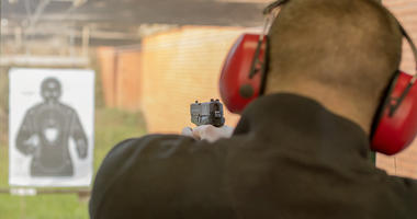 Police Training, Shooting Range