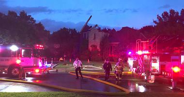 Keller House Fire