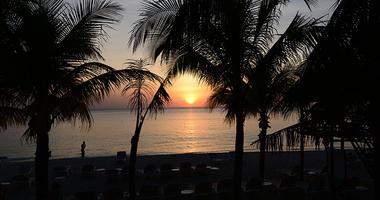 Mexico Beach, Sunset
