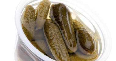 Pickle-flavored slushie