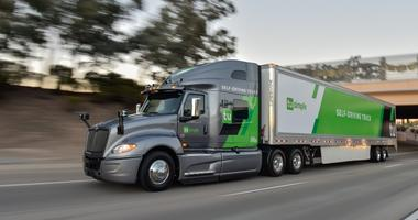 Tu Simple truck PR