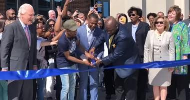 Ribbon cutting at new UNT Dallas Student Center