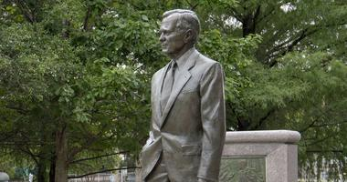 Statue Of George H. W. Bush