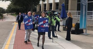 American Airlines Protest