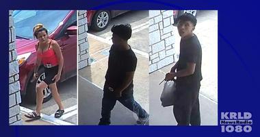 Dallas Police Seek Assault Suspects