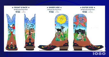 Big Tex Boot Design Contest