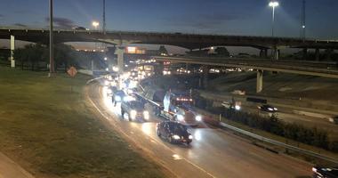 Wrong Way Crash Shuts Down Dallas Highway