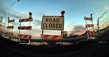 Road Closed, Road Construction,