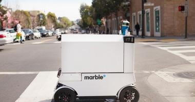 marble delivery truck