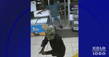 Houston Police Search For Three Masked Men Who Killed A Store Clerk