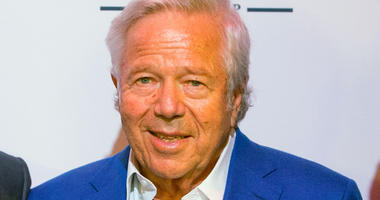A portrait of Patriots owner Robert Kraft