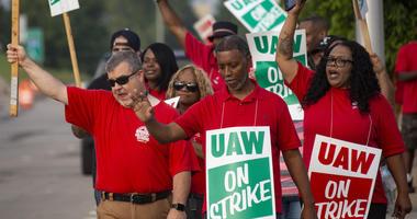 UAW strikers