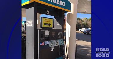 Skimmer Found On Arlington Gas Pump