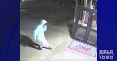 Grapevine Police Looking For Graffiti Vandals