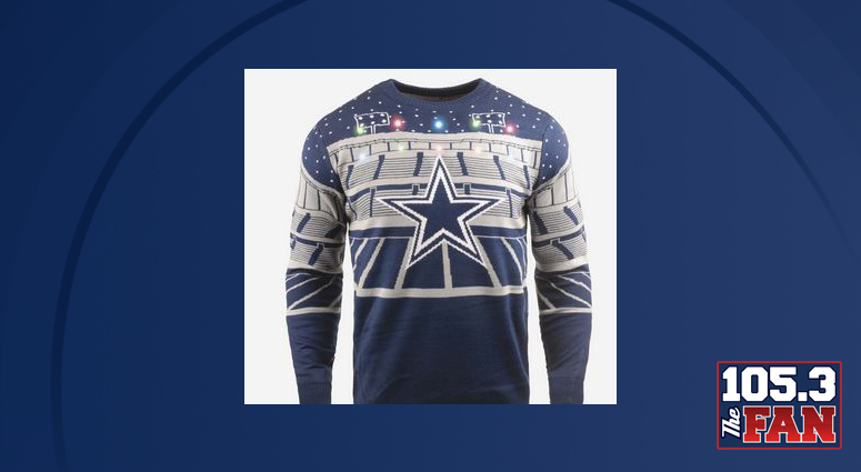 buy popular 63561 da815 Get In The Holiday Spirit With A Cowboys Light-Up Christmas ...