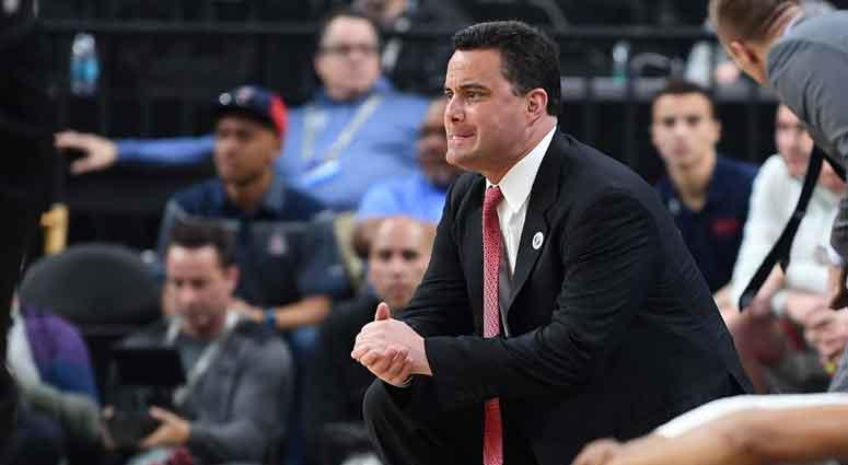 Arizona Wild Cats head coach Sean Miller