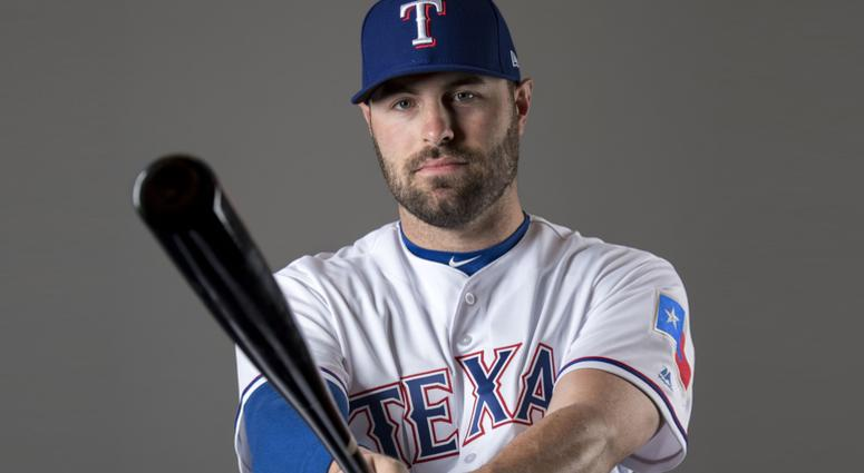 Texas Rangers catcher Curt Casali