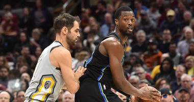 Dallas Mavericks forward Harrison Barnes