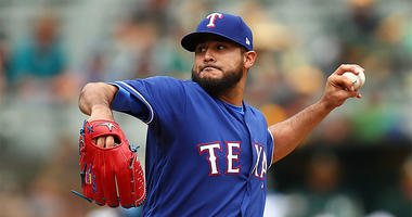 Texas Rangers pitcher Martin Perez