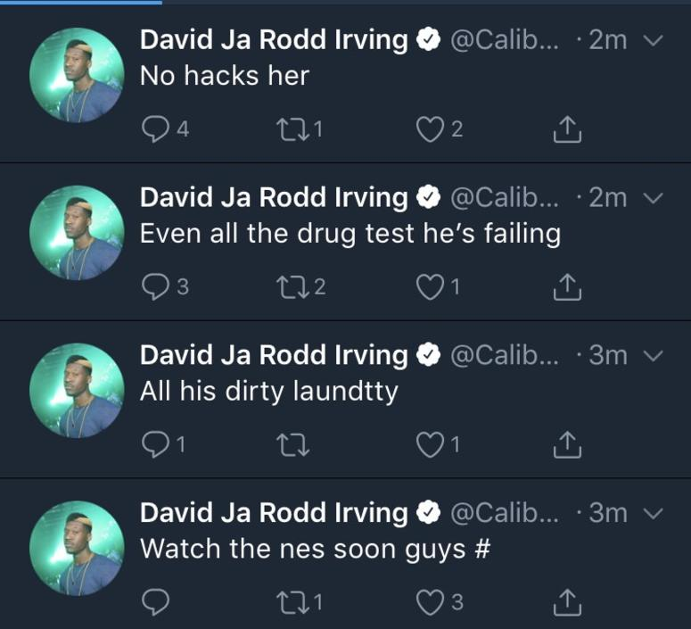 David Irving's Twitter Account Hacked