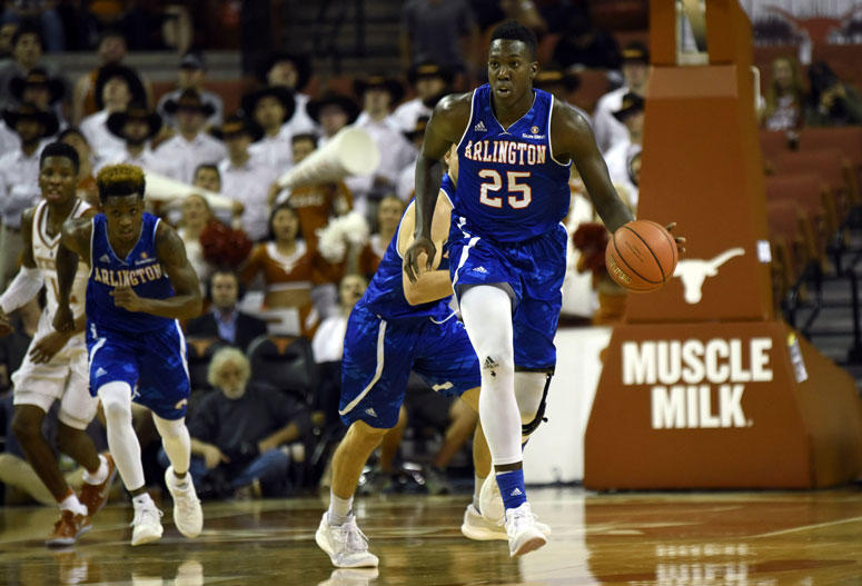 Texas-Arlington Mavericks forward Kevin Hervey