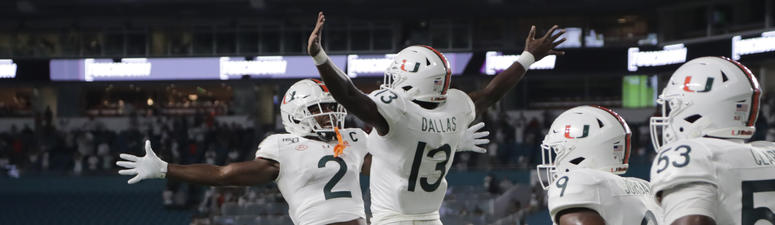 Miami holds off No. 20 Virginia, 17-9