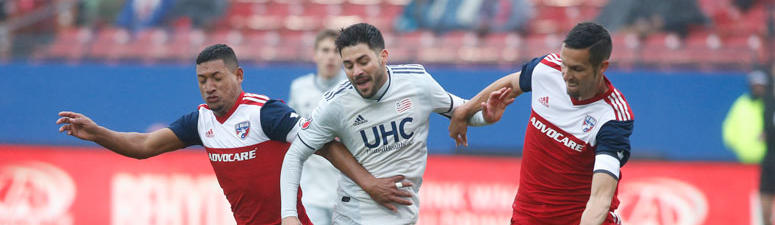 Gil Scores In MLS Debut, Revolution Tie FC Dallas 1-1