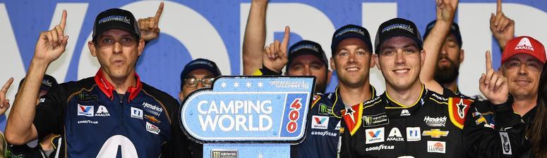 NASCAR Cup Series driver Alex Bowman