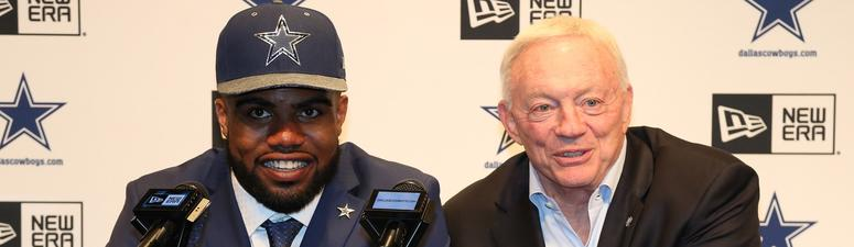Ezekiel Elliott, Jerry Jones