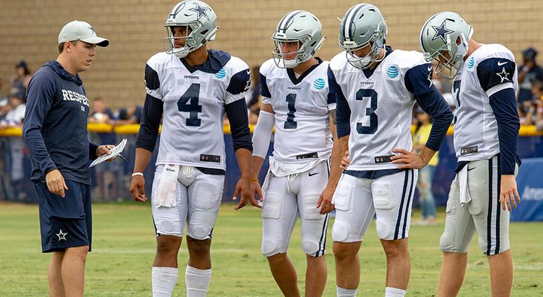 Kellen Moore, Dallas Cowboys