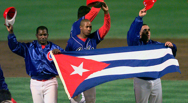 Cuban baseball team