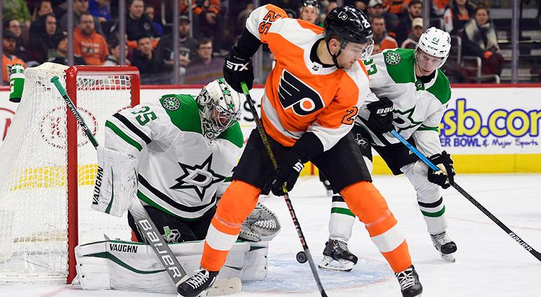 Flyers vs Stars