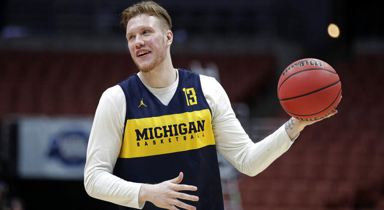 Michigan's Ignas Brazdeikis