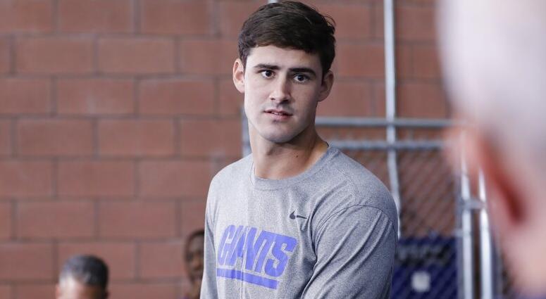 New York Giants' Daniel Jones