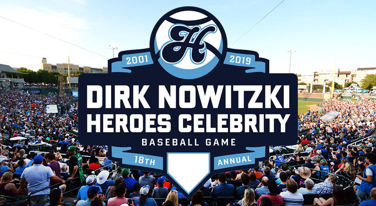 Dirk Nowitzki's 2019 Heroes Celebrity Baseball Game