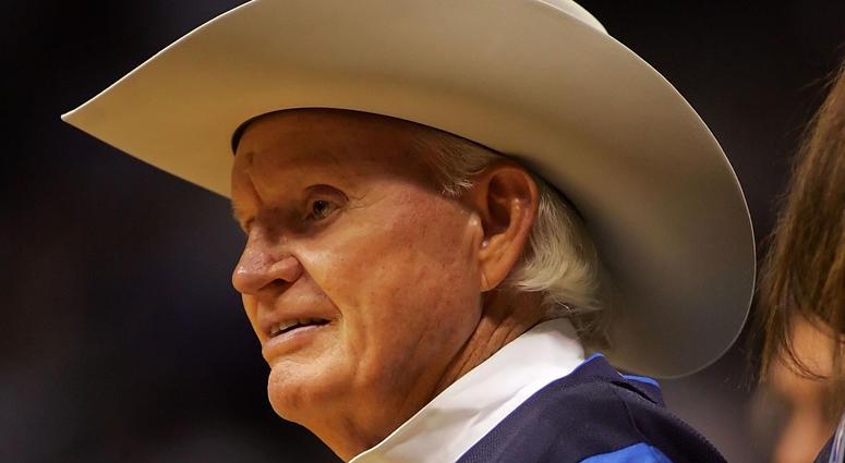 Founder Don Carter of the Dallas Mavericks