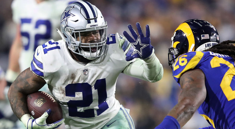 "Cowboys Offer To Make Elliott ""One Of The NFL's 2 Highest-Paid RBs"""