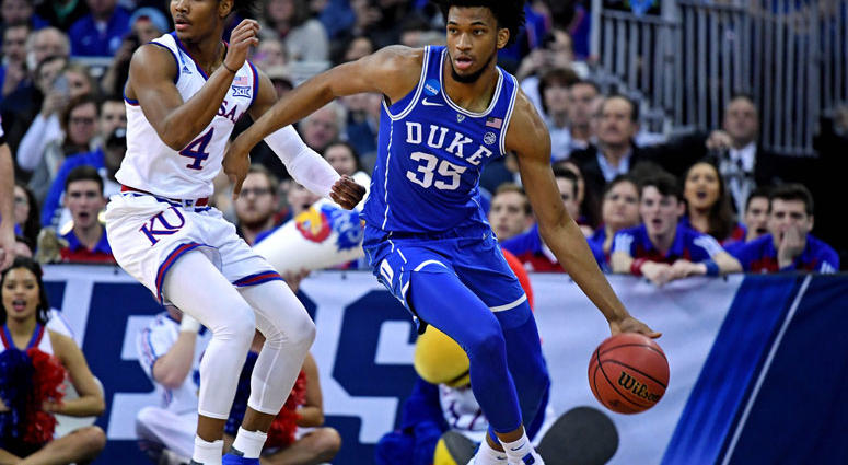 Duke Blue Devils forward Marvin Bagley III