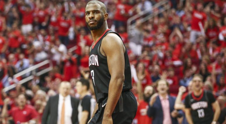 Houston Rockets guard Chris Paul