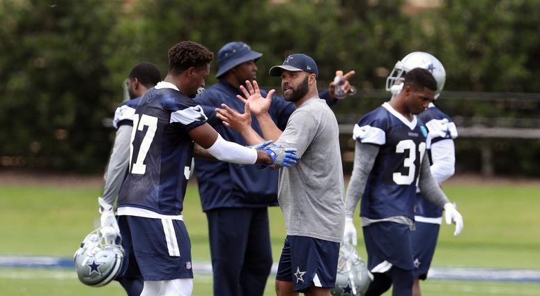 Dallas Cowboys defensive backs coach Kris Richard