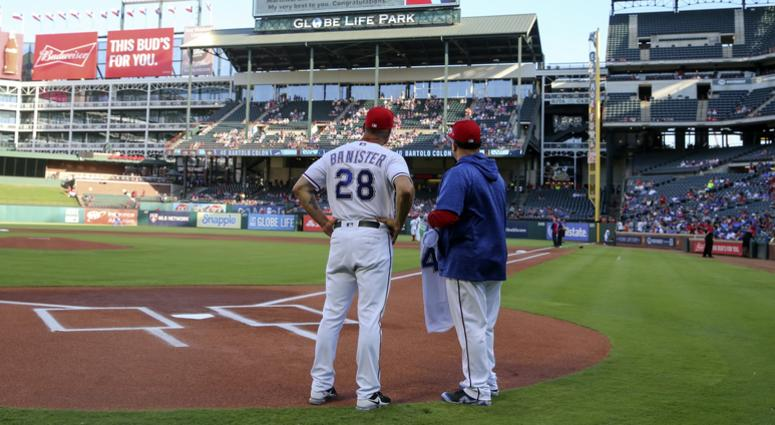 San Diego Padres at Texas Rangers