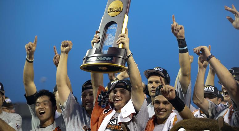 College World Series Championship-Arkansas vs Oregon State